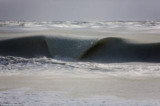 Le onde congelate