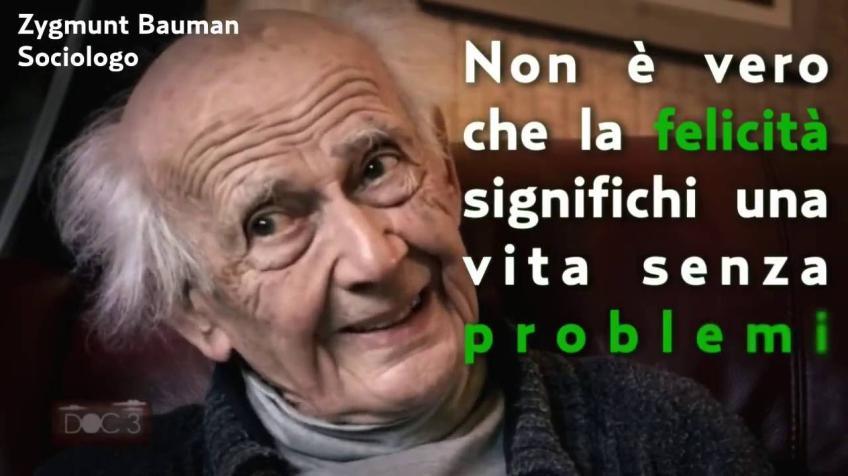 Discorso sulla Felicità - Zygmunt Bauman